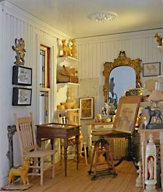 Great studio to paint a canvas or two. by Tom Roberts - First Victorian