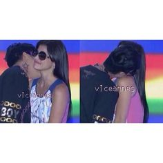 Sana araw-araw may kiss sa neck @praybeytbenjamin @Anne Curtis-Smith. Haha. January 25,2013 was your first kiss sa lips. We , viceannes,  hope na sana masundan na. Hahaha. We love you