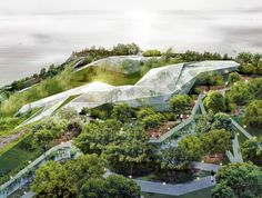Plasma Studio's Crystalline Xi'An Greenhouse Sparkles in the Sun | Inhabitat - Sustainable Design Innovation, Eco Architecture, Green Building