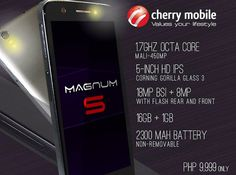 Cherry Mobile Magnum S: octa-core 5-inch smartphone for just Php9,999
