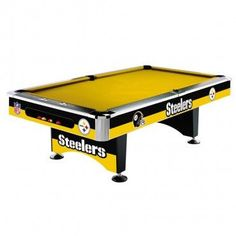 Pittsburgh Steelers 8Ft Pool Table By Imperial