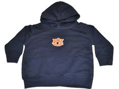 Auburn Tigers Two Feet Ahead Toddler Navy Fleece Hoodie Sweatshirt