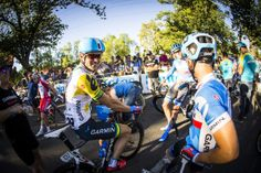 2014 SANTOS TOUR DOWN UNDER — PEOPLE'S CHOICE CLASSIC - Steele von Hoff in the Aussie colours after his nationals criterium win last week.
