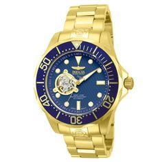 Invicta Men's 'Pro Diver Automatic 13711' Blue Dial Watch