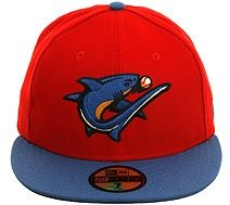The Clink Room New Era 5950 Clearwater Threshers Fitted Road Hat