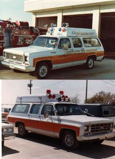 1970's Chevy Suburban Ambulance's