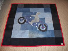 i only have 10 of these; small lap quilt it will have to be ... : motorcycle quilt pattern - Adamdwight.com
