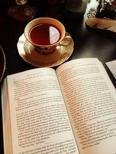 On Books and Tea and Magic