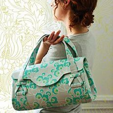 Quality Sewing Tutorials: Blossom Handbag/Shoulder Bag pattern by Amy Butler Amy Butler, Sewing Patterns Free, Free Sewing, Free Pattern, Pattern Sewing, Diy Bags Patterns, Dress Patterns, Bag Sewing, Sew Mama Sew
