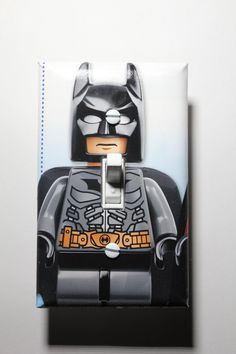Lego Batman superhero Light Switch Plate Cover by ComicRecycled, $7.99