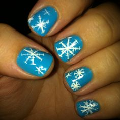 Snowflakes - makes me wish for winter