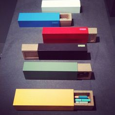 Pencil cases by Pension for Produkte seen at @Tendence_
