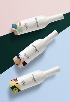 BREAKFAST - Flavored Milk Packaging on Behance