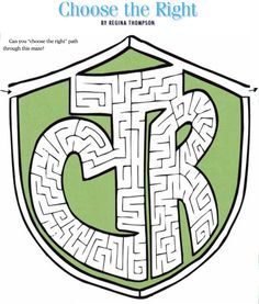 Choose the right Maze. This site is LOADED with other gospel games and coloring sheets for the kids