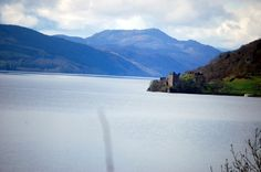 The Scottish Highlands -  One of Macbeth's many castles nestled in the banks of Loch Ness