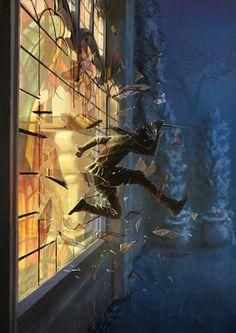 m Rogue Thief Escape through the window