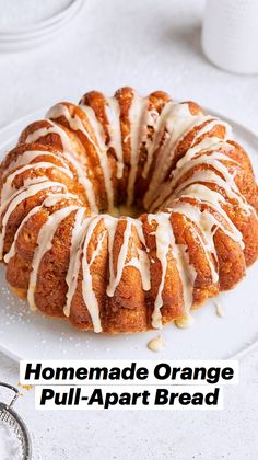 Just Desserts, Delicious Desserts, Dessert Recipes, Breakfast Recipes, Breakfast Time, Bubble Bread, Pull Apart Bread, Orange Recipes, Citrus Recipes