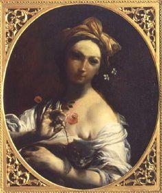 Crespi - La ragazza con la rosa e il gatto - Storia e Memoria di Bologna