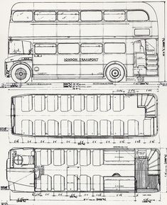 Blueprints for a double decker bus!