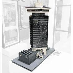 ADAM Tower by Erwin te Kortschot. More pics at archbrick.com #lego #legoarchitecture #legoskyscraper #legobuilding #legos #legotower #legostagram #legomodel #legoideas