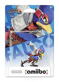 Nintendo Falco Amiibo - Wii U: Super Smash Bros. Super Smash Bros, Wii U, Nintendo 3ds, Nintendo Switch, Star Fox, Fox Brand, Online Video Games, Birthday List, Video Game Console