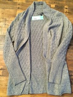 Brixton Ivy Lawley Cable Knit Open Cardigan