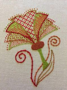 #Crewelembroidery