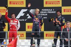 Podium - Monza - Italian GP 2013