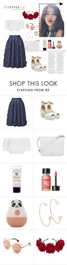 """""""Yes style!!"""" by galiahzafer ❤ liked on Polyvore featuring JY Shoes, Miguelina, Furla, Etude House, Biu Style and Victoria Beckham"""