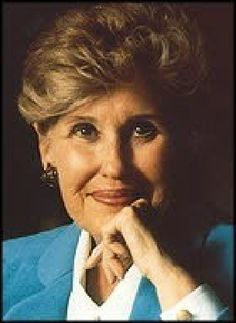 Erma Bombeck    February 21, 1927 to April 22, 1996 ... we were so blessed by her life.