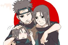 Shisui Itachi sasuke uchiha clan