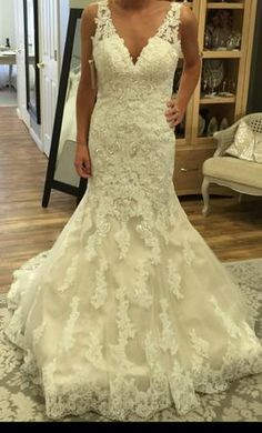 Mori Lee 2773 4: buy this dress for a fraction of the salon price on PreOwnedWeddingDresses.com