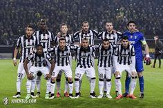 La formazione che ha steso il Borussia Dortmund nel ritorno degli ottavi di finale. (Borussia Dortmund 0-3 Juventus)