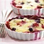 Berry Pudding Cake