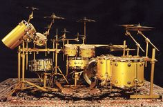 Jose's Drum set up.
