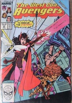 MARVEL COMICS WEST COAST AVENGERS No 43 APRIL 1989