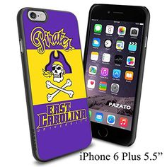 "NCAA East Carolina Pirates , Cool iPhone 6 Plus (6+ , 5.5"") Smartphone Case Cover Collector iphone TPU Rubber Case Black [By NasaCover] NasaCover http://www.amazon.com/dp/B012BCH4H6/ref=cm_sw_r_pi_dp_HcoXvb1P69YKQ"