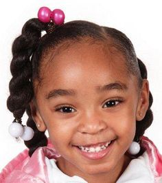 Barrette Hairstyles Hairstyle With Barrettes  Hairstyles For Little Girls  Pinterest