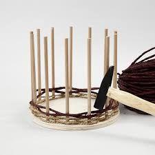 Image result for lanka ja pahvi punottu kori Wooden Crafts, Woodworking, Gifts, Diy Wood, Home Decor, School, Image, Creative, Woodworking Crafts