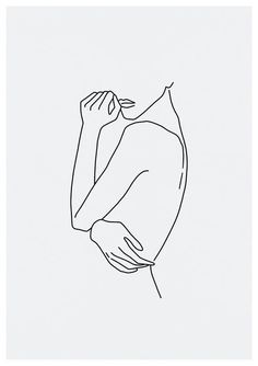 Sketch # 67 LINE ART PRINT minimalist line art woman body lines nude interior designer . - Sketch # 67 LINE ART PRINT minimalist line art woman body lines nude interior design minimal decor - Line Art Tattoos, Body Art Tattoos, Woman Body Tattoo, Tattoo Art, Verse Tattoos, The Body Shop Gifts, Art Sketches, Art Drawings, Body Sketches