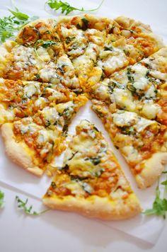 Savory Pumpkin Pizza, aka, The Best Pizza You Will Ever Eat. Ever Savory Pumpkin Pizza, aka, The Best Pizza You Will Ever Eat. Pumpkin Dishes, Savory Pumpkin Recipes, Vegetarian Recipes, Cooking Recipes, Healthy Recipes, Pumpkin Pizza, Vegan Pumpkin, Canned Pumpkin, Pumpkin Spice