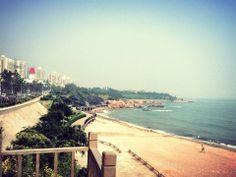 #Qingdao beautiful #beach - #China #Zhuhai #Chengdu #intern #internship