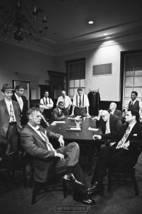 Jury and angry men