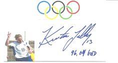 Kristine Lilly autograph,