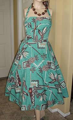 She has some issues but I love her/1950's Tiki Alfred Shaheen
