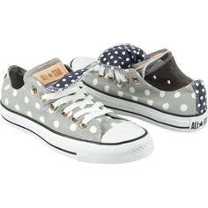 Polka dot Converse ♥