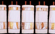 Jeanette Kuvin Oren   Torah covers, Torah mantles