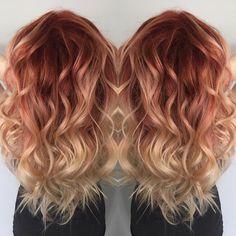 nice Цвет волос Клубничный блонд (50 фото) — Трендовое окрашивание 2017 Читай больше http://avrorra.com/klubnichnyj-blond-cvet-volos-foto/