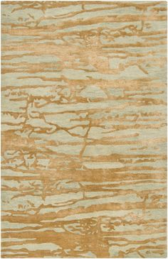 Cool copper patina on this rug from the Banshee Collection by Surya (BAN-3303)
