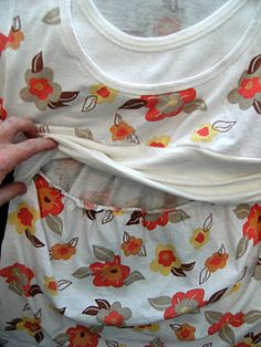 DIY nursing top...I think I will try this!